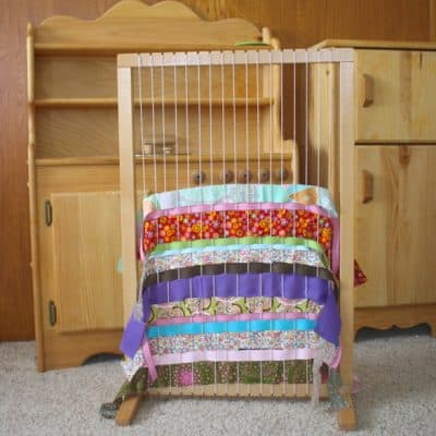 Weaving on a Family or Classroom Weaving Loom with Kids