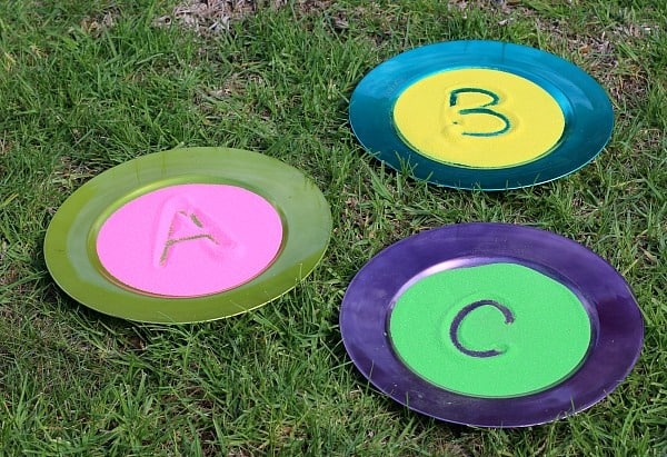 Spring Themed Sensory Play~ Spring Colored Sand Trays
