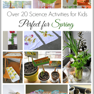 20+ Spring Science Activities for Kids