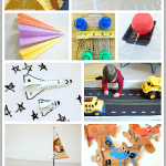 12+ Transportation Themed Homemade Toys
