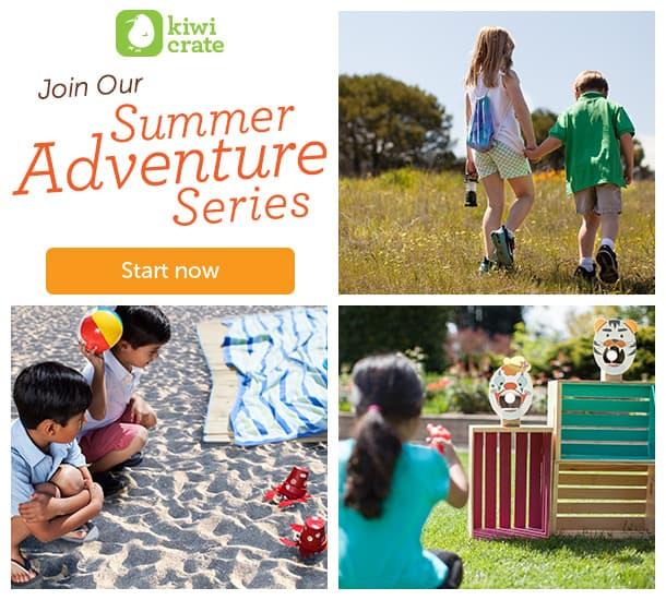 Kiwi Crate's Summer Adventure Series