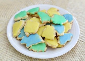 Cooking with Kids: Little Blue and Little Yellow Cookies