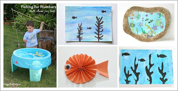 Over 20 Sea Animal Crafts and Activities for Kids - Buggy and Buddy