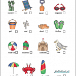 Beach Scavenger Hunt (Free Printable)
