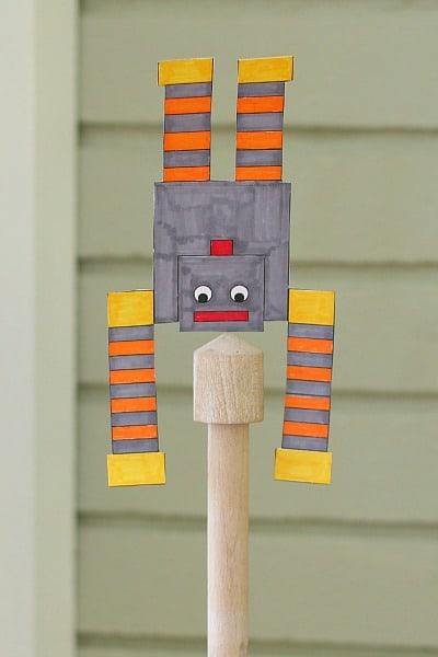 Science for Kids: Make a Balancing Robot! (FREE Printable)~ Buggy and Buddy