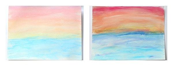 chalk versus chalk pastels