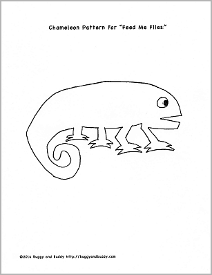 Fine motor and math game for the mixed up chameleon by for Mixed up chameleon coloring page