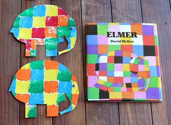 It is a graphic of Elmer the Elephant Printable with regard to worksheet