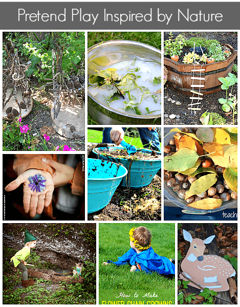 9 Pretend Play Ideas Inspired by Nature