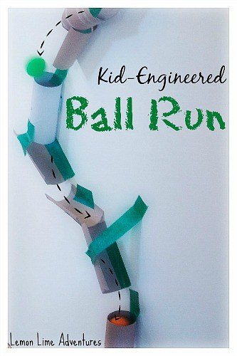 Kid-Engineered Marble Run