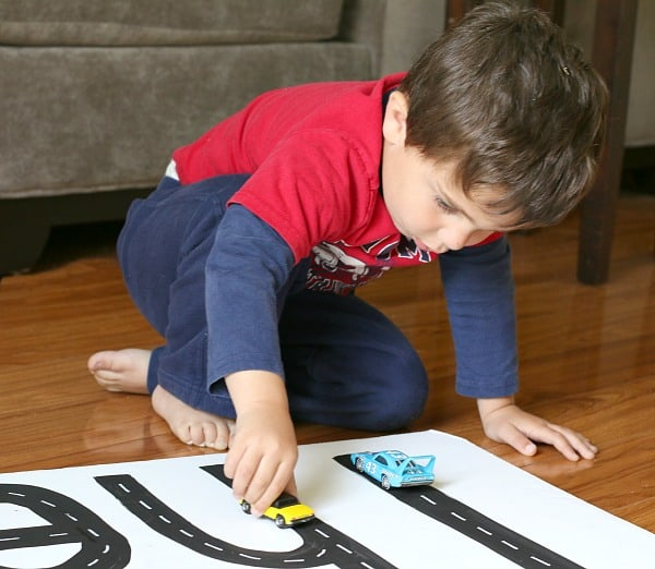 Car Name Activity for Kids~ Buggy and Buddy