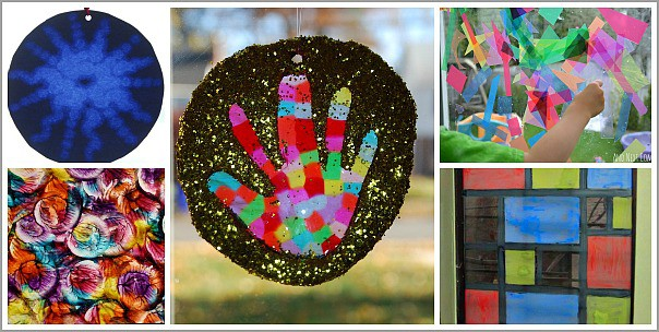 Window Art for Kids to Make Any Time of Year
