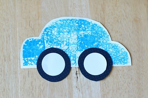 car paper craft