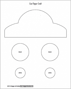 Free Car Template  Printable Car Template