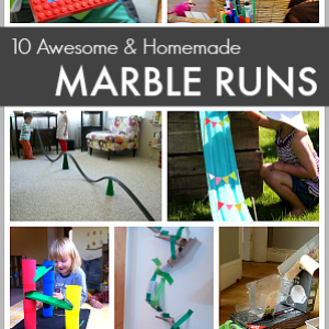 10+ Awesome Homemade Marble Runs