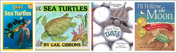 Children's Books about Sea Turtles