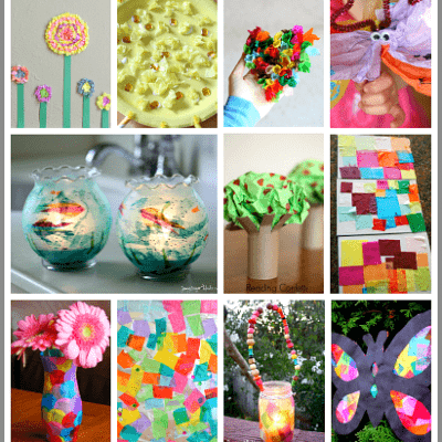 20+ Tissue Paper Crafts for Kids