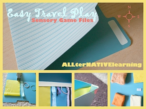 Sensory Play for Travel