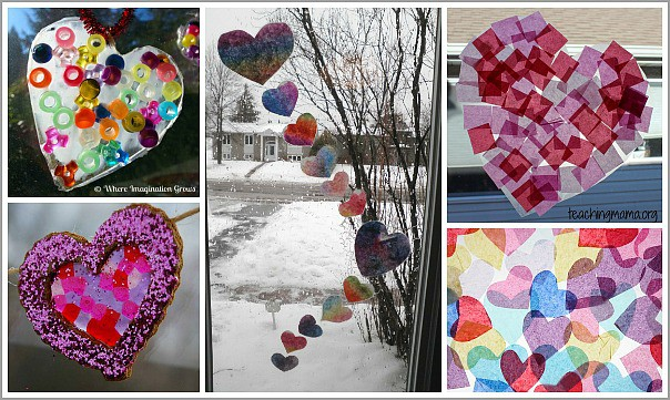 Window Art for Valentine's Day