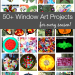 50+ Window Art Projects for Kids (for Every Season!)