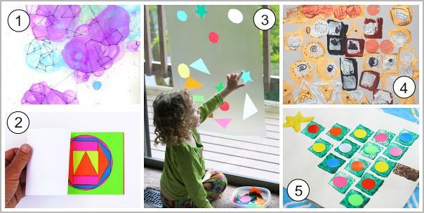 Shape Art for Kids