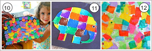 art for kids using squares