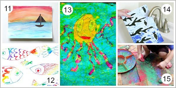unique art for kids