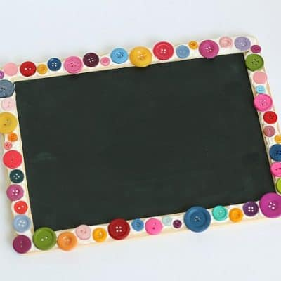 DIY Decoden Chalkboard for Kids
