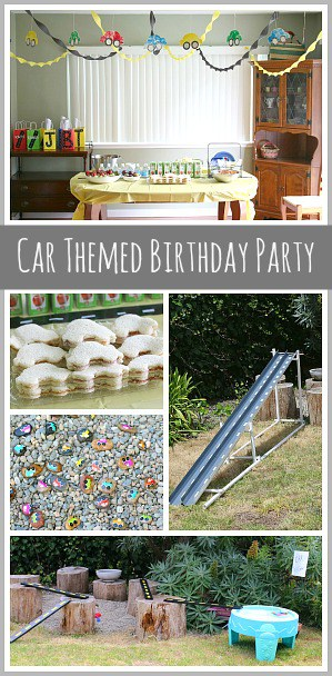 Car Themed Birthday Party~ Buggy and Buddy