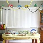 Car Themed Birthday Party