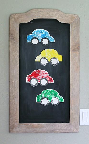 sponge painted car craft