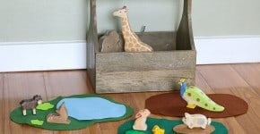 Encourage Imaginative Play with Felt