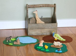 How to Easily Encourage Imaginative Play Using Felt