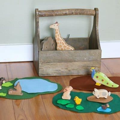 How to Easily Encourage Imaginative Play Using Felt