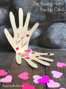 The Kissing Hand Pop-Up Card
