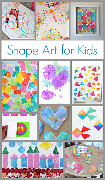 shapes craft ideas projects for using shapes buggy and buddy 2912
