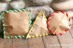 Learning Shapes: Stuffed Shape Craft for Kids