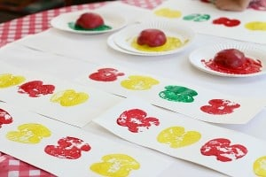 Math Patterns Using Apple Prints