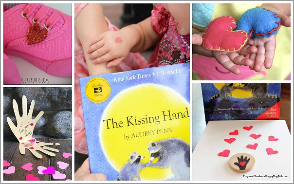 Children's Activities for The Kissing Hand