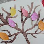 Fall Alphabet Art Project: Mystery Letter Tree