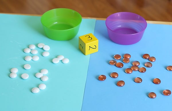 setting up the counting game