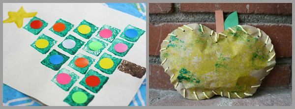 art projects for kids using sponges