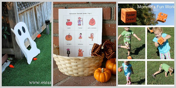 halloween group games for kids - Fun Halloween Games For Toddlers