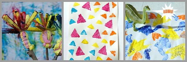 cool ways to use sponges in art