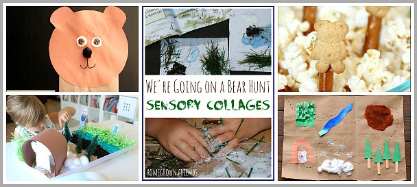 Activities for Kids Based on the Book, We're Going on a Bear Hunt