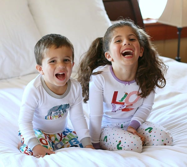 Why we LOVE our Eric Carle themed pajamas from Gymboree~ BuggyandBuddy.com