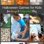 Halloween Games for Kids (for both Group Play and Independent Play)