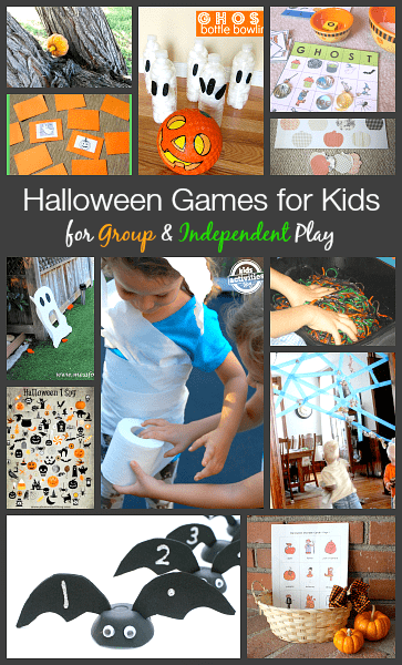 Halloween Games for Kids: For Both GROUP & INDEPENDENT Play! ~ BuggyandBuddy.com