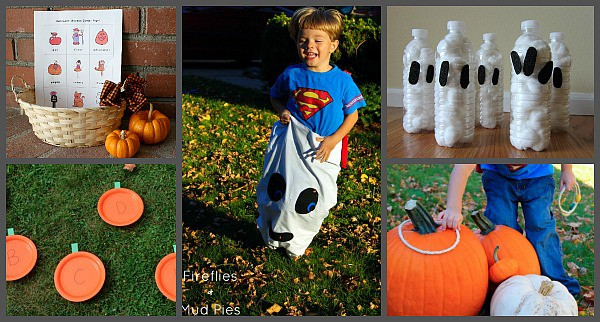 easy halloween games for a kids halloween party - Game Ideas For Halloween Party