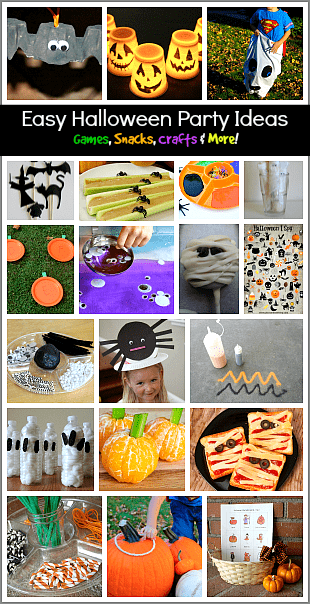 over 20 easy halloween party ideas for kids - Fun Halloween Games For Toddlers
